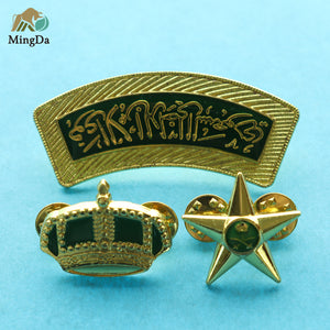 Pin Badge For Saudi Arabia Army Uniform
