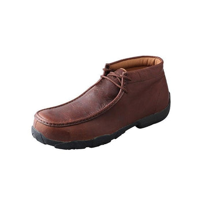 Men's Twisted X Driving Moccasins – Oiled Brown/Brown MDMCT01