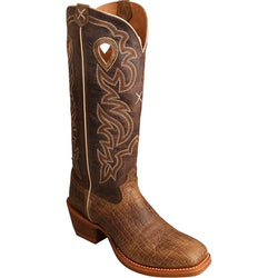 Twisted X Men's Buckaroo Cowboy Boot - Square Toe - MBK0030