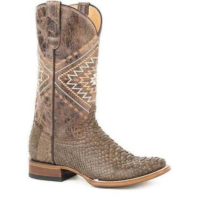 Women's Handcrafted Roper Eroica Python Snake Skin Boots 09-021-6500-8114