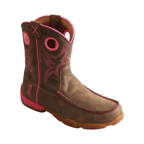 Youth Twisted X YDB0001 Driving Moc Cowgirl Boot