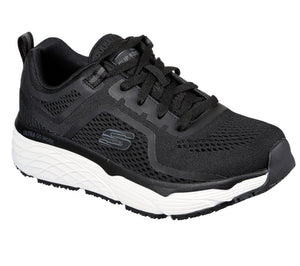 WOMEN'S Work: Skechers Max Cushioning Elite SR - Banham Shoes 108029 BKW