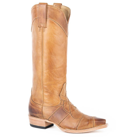 Women's Stetson Parker Leather Boots Handcrafted 12-021-6115-1342