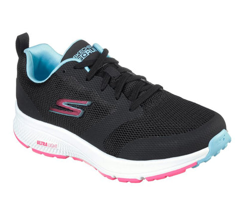 WOMEN'S Skechers GOrun Consistent - Fearsome 128076 BKMT RUNNING SHOES