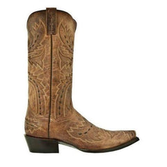 Dan Post Men's Tan Mad Cat Sidewinder Cowboy Boots DP2233