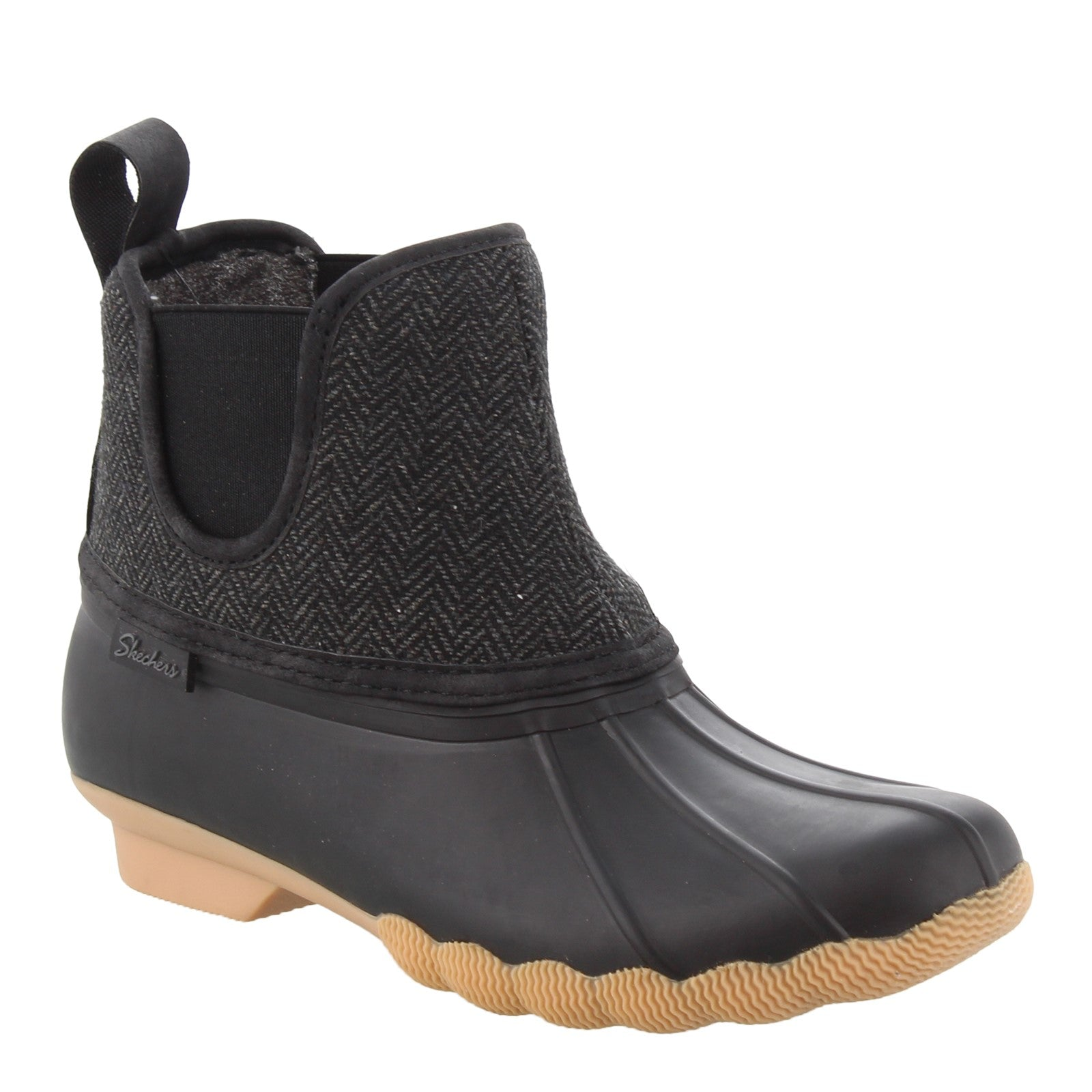 SKECHERS Women's Skechers, Pond - Staying Dry Duck Boot 44377 BKCC