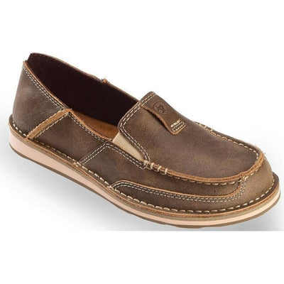 Womens Earth Spirit Lockhart Trainer Zip Lace up Leather Flat Summer Shoe Loafer