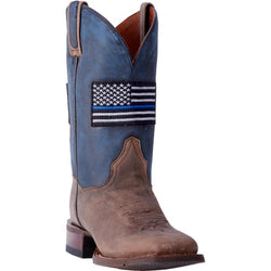 Dan Post Women's Thin Blue Line Cowgirl Boots - Square Toe DP4030