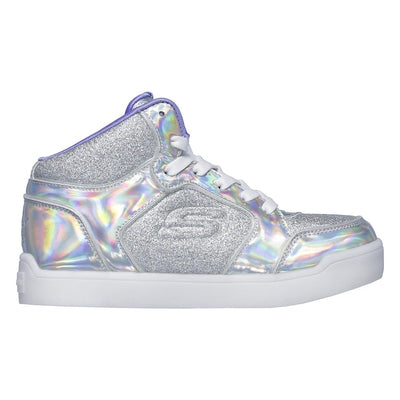 KIDS SKECHERS S LIGHTS: ENERGY LIGHTS ULTRA - GLITZY GLOW 20188L SIL