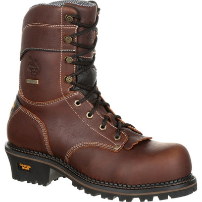 Men's Georgia Boot AMP LT Logger Waterproof Work Boot GB00235