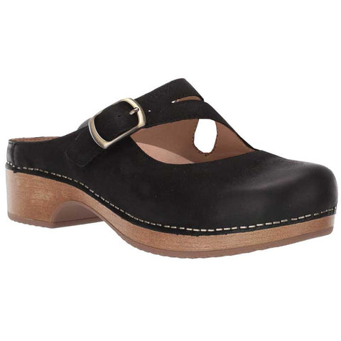 Dansko Britney Black Burnished Nubuck 9422-471600