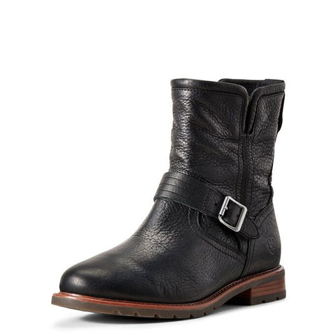 Ariat Women's Savannah Waterproof Boot 10029549 BLACK WITH HARNESS