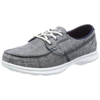 02e98ed15ff Skechers Performance Women's Go Step-Marina Boating Shoe 1441-NVY – Country  View Western