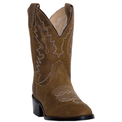 Dan Post Youth Shane Distressed Leather Western Boots DPC3003