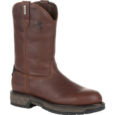 7ff8dcab3e3 GEORGIA BOOT CARBO-TEC LT WATERPROOF PULL-ON WORK BOOT GB00308