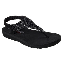 Skechers Cali Women's Meditation-Rock Crown Flat Sandal 31560 BBK