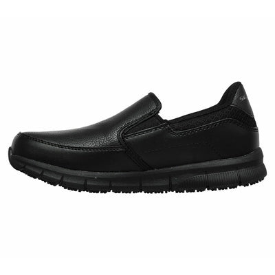Womens Skechers 77236 NAMPA ANNOD Non Skid Slip On Resistant Work Shoes