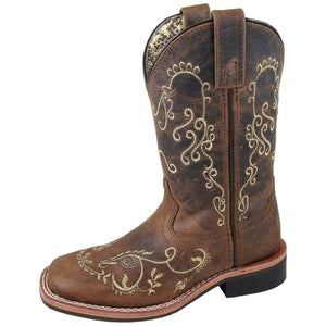 Smoky Mountain Girls' Marilyn Western Boot - Square Toe - 3845Y