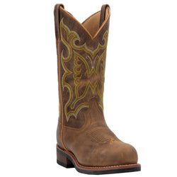 Laredo Women's AINSLEY LEATHER BOOT (Steel Toe) 51312