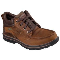 Men's SKECHERS MELEGO 64522 CDB Waterproof Lace-Up Hiking Boot Shoes