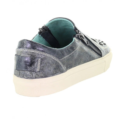Corral Gray Wings and Cross Sneakers E1552