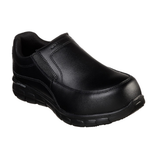 WOMEN'S WORK: SYNERGY - WAPEECO ALLOY TOE SLIP ON SHOES 77262 BLK