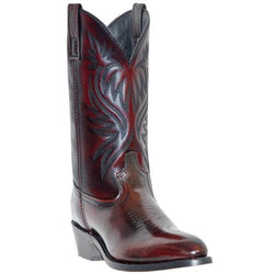 Laredo Men's London Black Cherry Leather Foot Western Boots 4216