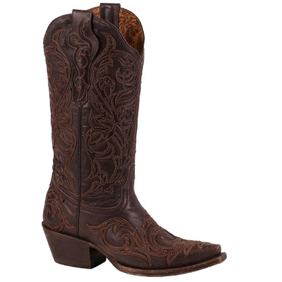 CORRAL Corral Tobacco Overlay Women's Western Boots G1459