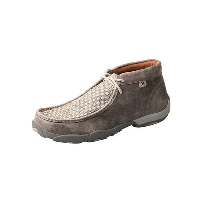 Twisted X Men's Driving Moccasins – Grey/Grey MDM0073
