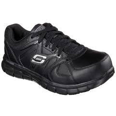 Skechers Work Synergy Sandlot ST(Women's) -Black/Pink Cheap Sale Fashion Style With Credit Card Free Shipping 2018 Newest Buy Cheap Professional vyZF58U05l