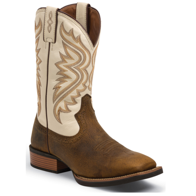 SV7222 Justin Men's Silver Collection Western Boots - Whiskey Brown