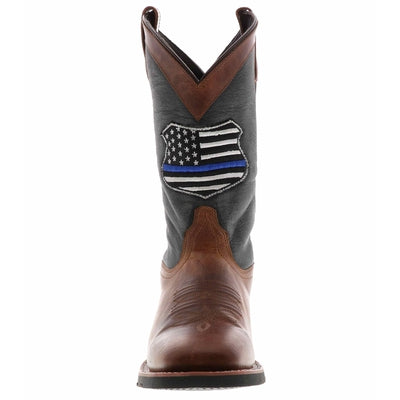 Laredo We Back The Blue Cowboy Boot 7878 (Men's)