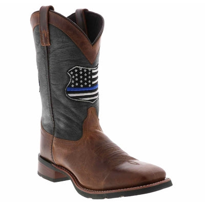 Men's Laredo We Back The Blue Cowboy Boot 7878