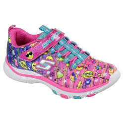 SKECHERS KIDS TRAINER LITE - HAPPY DANCER 81486N - MLT