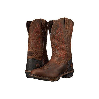 35302cc85c4 WK4644 Justin Men's Rugged Utah Western Work Boots