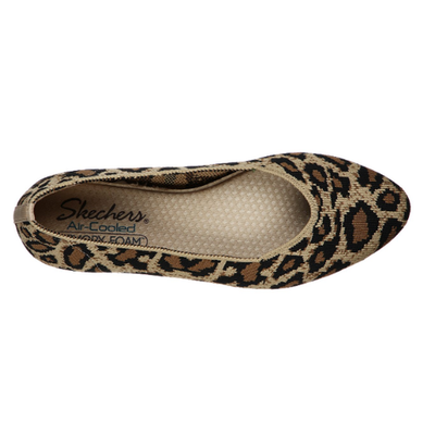 Skechers Women's Shoes Cleo Claw-Some Flats 44886 NAT
