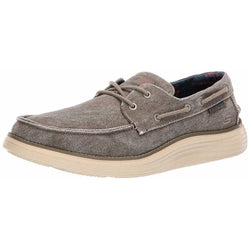 Skechers Men's Status 2.0-Lorano Moc Toe Canvas Deck Shoe Oxford 65908 TPE