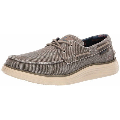 Perforación Abigarrado Serrado  Skechers Men's Status 2.0-Lorano Moc Toe Canvas Deck Shoe Oxford 65908 –  Country View Western