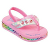 Skechers Infant Girls' Twinkle Toes Sunshines Mermaid Dreams Thong Sandal 20197N