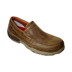 Twisted X Men's Leather Driving Moc - Composite Toe - MDMSC03