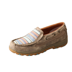 Twisted X Women's Boat Shoe Driving Moc with CellStretch® WXC0008