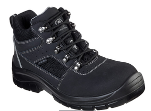 Skechers Men's Work Trophus Letic Steel Toe Boot 200007 BLK