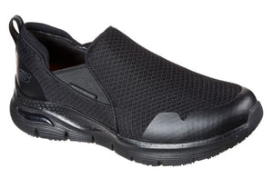 SKECHERS MEN'S Work: Skechers Arch Fit SR - Tineid Work Shoes 200026 BLK