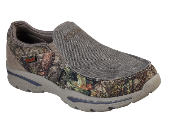Skechers Men's Relaxed Fit Creston Moseco Loafer 65355 CAMO