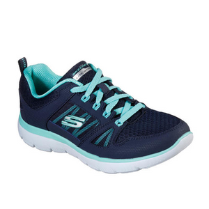 Womens Skechers Sport Summits New World NavyTurquoise 12997