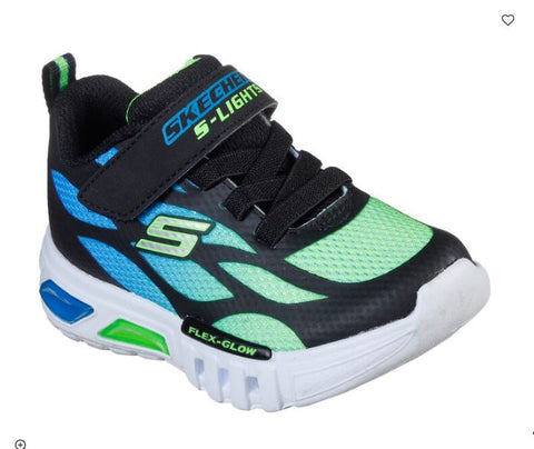 SKECHERS INFANT S Lights: Flex-Glow - Dezlo 400016N BBLM