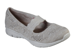 Skechers Women's Seager Pitch Out Mary Jane Flat 158081 TPE