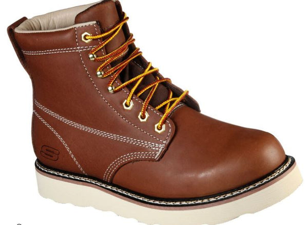 SKECHERS MEN'S Work: Pettus - Lebaum Work Boots 200010 DKBR