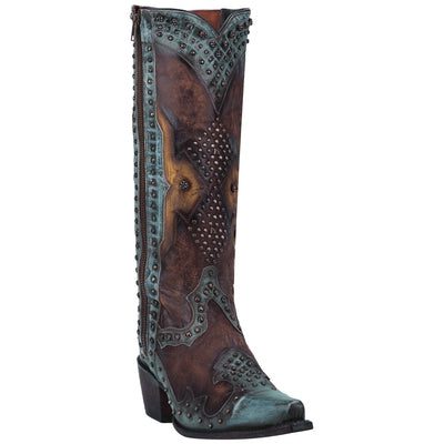Dan Post Women's Natasha Studded Western Boots DP3687