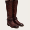 WOMEN MELISSA BELTED TALL EXTENDED CALF REDWOOD 70500